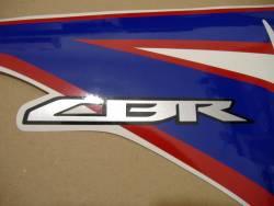 Honda CBR 150R 2012 white decals kit