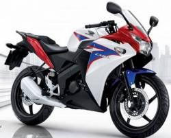 Honda 150r 2012 white complete decals set