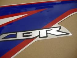 Honda CBR 150R 2012 white stickers kit