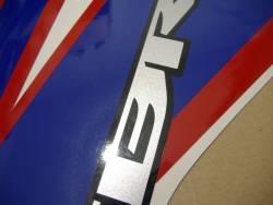 Honda CBR 150R 2012 white adhesives set