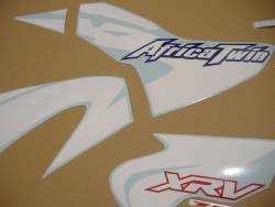 Honda XRV 750 2002 Africa Twin blue stickers