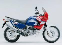 Honda XRV 750 2002 blue decals kit