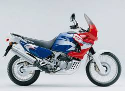Honda 750 2002 Africa Twin blue decals