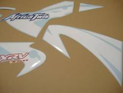 Honda 750 2002 blue complete sticker kit
