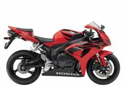 Honda 1000RR 2007 Fireblade red graphics set