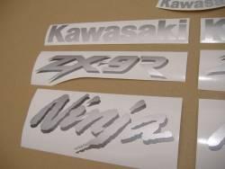 Kawasaki ZX-9R 1999 complete sticker kit