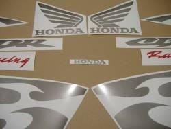 Honda CBR 600RR 2005 black stickers kit