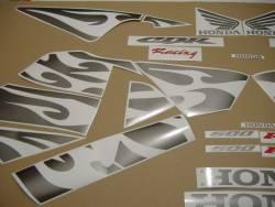 Honda 600RR 2005 black labels graphics