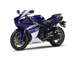 Yamaha R1 2010 RN22 14b Blue Decals Kit