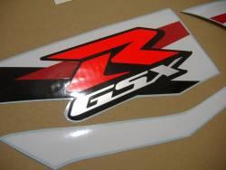 Suzuki GSXR 1000 2012 white decals