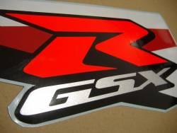 Suzuki GSX-R 1000 2012 white decals kit