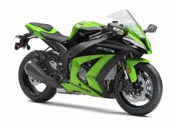 Kawasaki ZX10R 2012 Ninja green decals