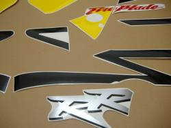 Honda 954RR 2003 SC50 yellow decals