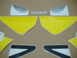Honda 954RR 2003 Fireblade yellow logo graphics