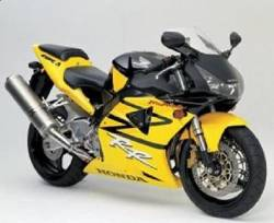 Honda 954RR 2003 yellow reproduction decals
