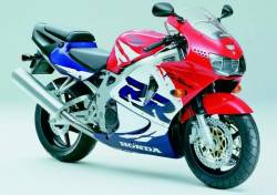 Honda CBR 919RR 1999 SC33 red decals kit