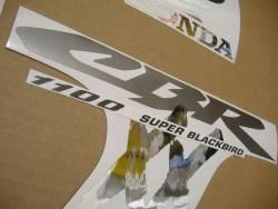 Honda 1100XX 2003 SC35 black stickers set