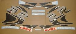 Honda CBR 919RR 1998 SC33 orange stickers