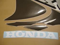 Honda CBR 919RR 1998 Fireblade orange stickers kit