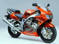 Honda CBR 919RR 1998 SC33 orange decals kit