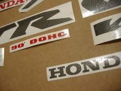 Honda VTR 1000F 1999 silver stickers kit