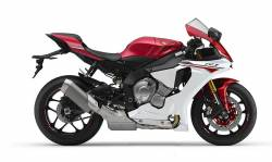 Yamaha R1 2015 RN32 white complete decal set