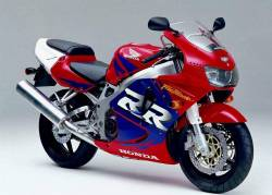 Honda CBR 919RR 1998 SC33 red decals kit