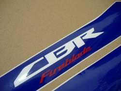 Honda CBR 1000RR 2013 HRC EU stickers kit