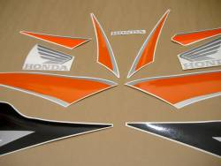 Honda CBR 600RR 2010 orange stickers