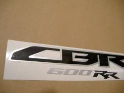 Honda 600RR 2010 orange stickers set