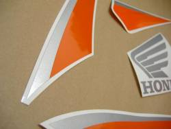 Honda 600RR 2010 orange complete sticker kit