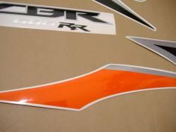 Honda 600RR 2010 orange full decals kit