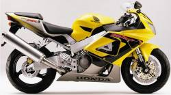 Honda CBR 929RR 2000 SC44 reproduction decals