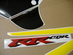 Honda 929RR 2000 Fireblade yellow full decals kit
