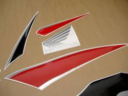 Honda CBR 600RR 2010 red stickers