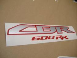 Honda CBR 600RR 2011 black stickers