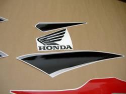 Honda CBR 600RR 2011 black decals kit