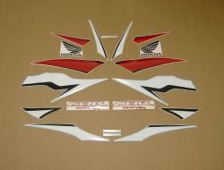 Honda CBR 600RR 2009 black decals