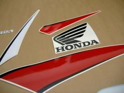 Honda cbr 600rr 2009 black reproduction decals