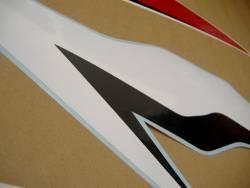 Honda cbr 600rr 2009 black decals kit