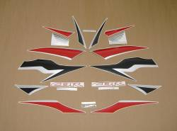 Honda cbr 600rr 2009 black graphics set