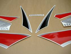 Honda  CBR 600RR 2009 black decals kit