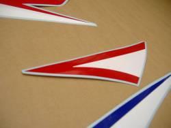 Honda CBR 600RR 2010 white stickers kit