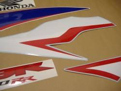 Honda CBR 600RR 2010 white logo graphics