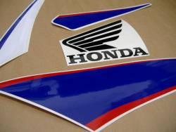 Honda 600RR 2010 white labels graphics
