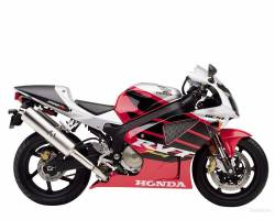 Honda RVT  2001 RC51 red reproduction stickers
