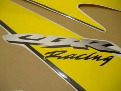 Honda 1000RR 2006 Fireblade yellow decal set