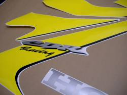 Honda 1000RR 2006 Fireblade yellow reproduction decals