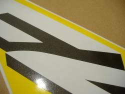 Honda CBR 600 F4 2002 yellow labels graphics