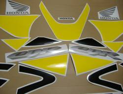 Honda CBR 929RR 2001 Fireblade yellow stickers set